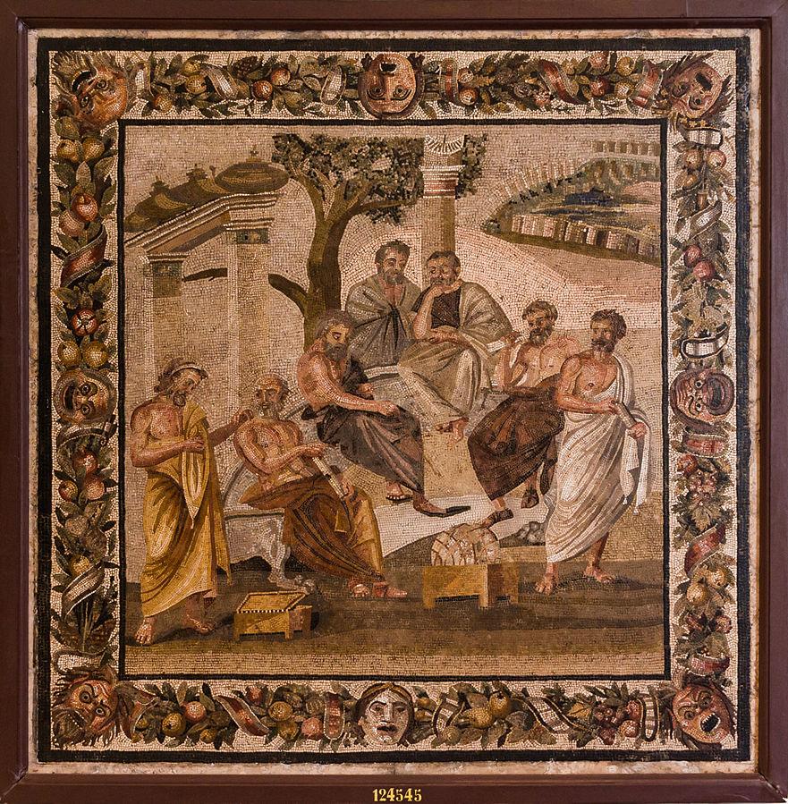 Μωσαϊκό: Ακαδημία Πλάτωνος